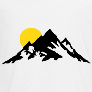 Moutain and Sunrise, Mountains Kids' Shirts - Kids' Premium Long Sleeve T-Shirt