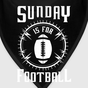Sunday is for Football - awesome sports fandom Caps - Bandana