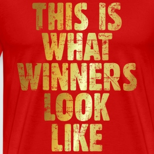 This is what winners look like (Ancient Gold) T-Shirts - Men's Premium T-Shirt