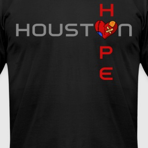 Houston Hope - Men's T-Shirt by American Apparel