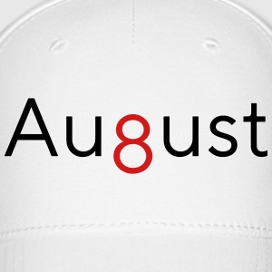 August - 8th Month - Baseball Cap