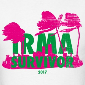 irma survivor T-Shirts - Men's T-Shirt