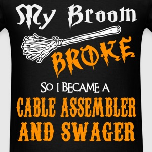 Cable Assembler And Swager - Men's T-Shirt