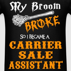 Carrier Sale Assistant - Men's T-Shirt