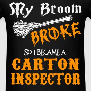 Carton Inspector - Men's T-Shirt