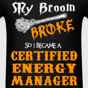Certified Energy Manager - Men's T-Shirt