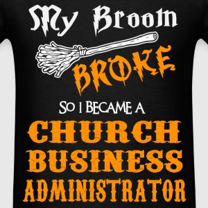 Church Business Administrator - Men's T-Shirt