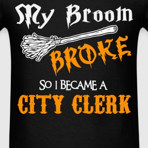 City Clerk - Men's T-Shirt