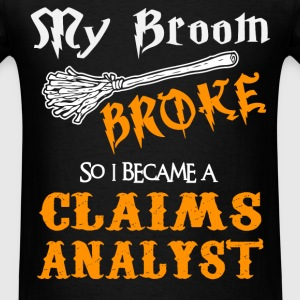 Claims Analyst - Men's T-Shirt