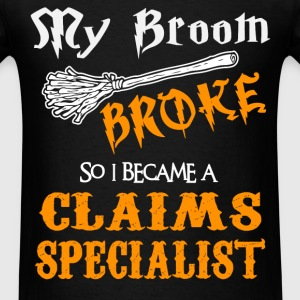 Claims Specialist - Men's T-Shirt