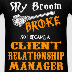 Client Relationship Manager - Men's T-Shirt