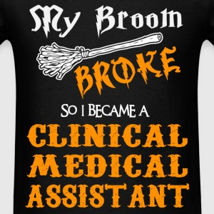 Clinical Medical Assistant - Men's T-Shirt
