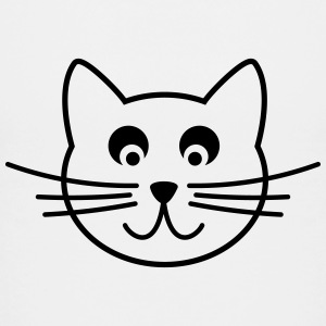 cat outline Kids' Shirts - Kids' Premium T-Shirt