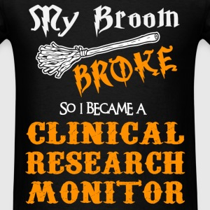 Clinical Research Monitor - Men's T-Shirt