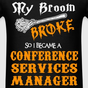 Conference Services Manager - Men's T-Shirt
