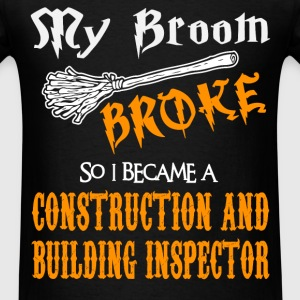 Construction and Building Inspector - Men's T-Shirt