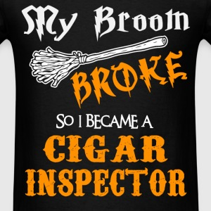 Cigar Inspector - Men's T-Shirt