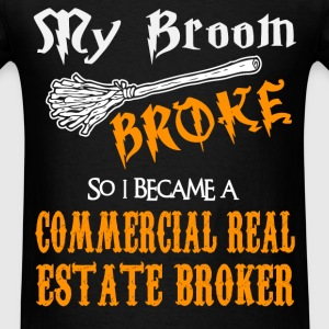 Commercial Real Estate Broker - Men's T-Shirt