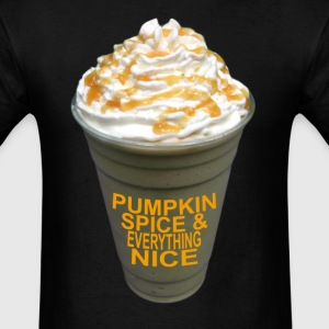 halloween_pumpkin_spice_and_everything_n - Men's T-Shirt