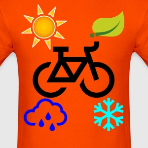 all_seasons_cyclist_tshirts_ - Men's T-Shirt