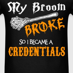 Credentials - Men's T-Shirt