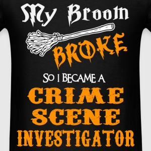 Crime Scene Investigator - Men's T-Shirt