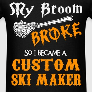 Custom Ski Maker - Men's T-Shirt