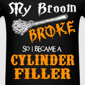 Cylinder Filler - Men's T-Shirt