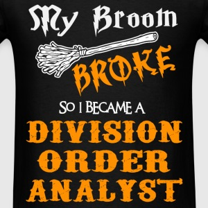 Division Order Analyst - Men's T-Shirt