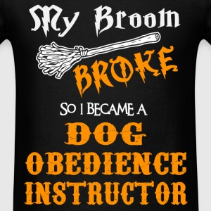 Dog Obedience Instructor - Men's T-Shirt