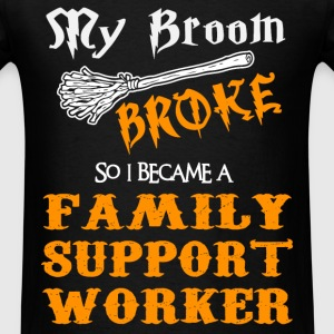 Family Support Worker - Men's T-Shirt