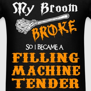 Filling Machine Tender - Men's T-Shirt