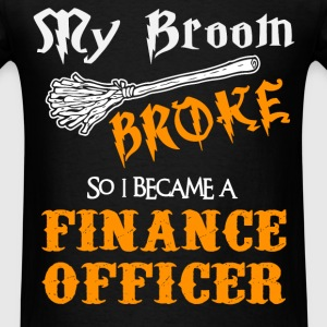 Finance Officer - Men's T-Shirt
