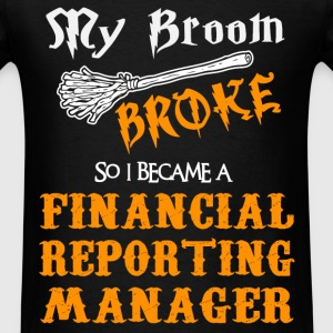 Financial Reporting Manager - Men's T-Shirt