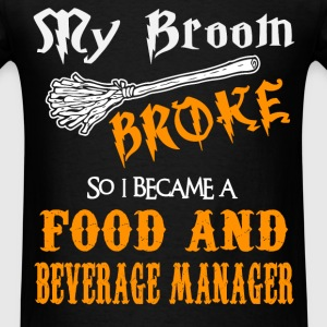 Food and Beverage Manager - Men's T-Shirt