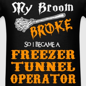 Freezer Tunnel Operator - Men's T-Shirt