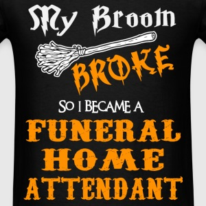 Funeral Home Attendant - Men's T-Shirt