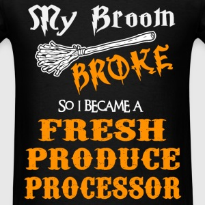 Fresh Produce Processor - Men's T-Shirt