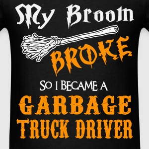 Garbage Truck Driver - Men's T-Shirt
