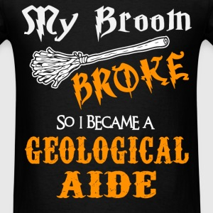 Geological Aide - Men's T-Shirt