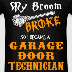 Garage Door Technician - Men's T-Shirt