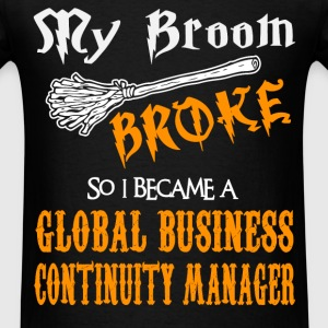 Global Business Continuity Manager - Men's T-Shirt