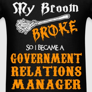 Government Relations Manager - Men's T-Shirt