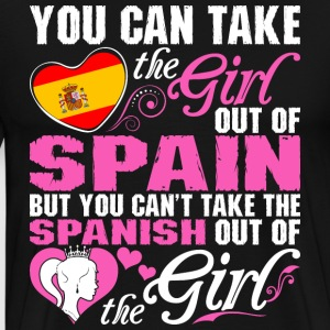 You Can Take The Girl Out Of Spain - Men's Premium T-Shirt