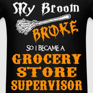 Grocery Store Supervisor - Men's T-Shirt