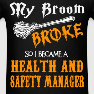 Health and Safety Manager - Men's T-Shirt