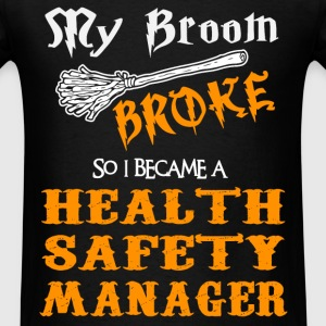 Health Safety Manager - Men's T-Shirt