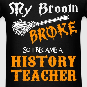 History Teacher - Men's T-Shirt