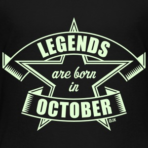 Legends are born in October (Birthday / Present) Kids' Shirts - Kids' Premium T-Shirt