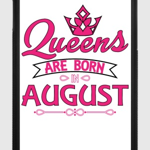 Queens Are Born In August Phone & Tablet Cases - iPhone 7 Plus Rubber Case